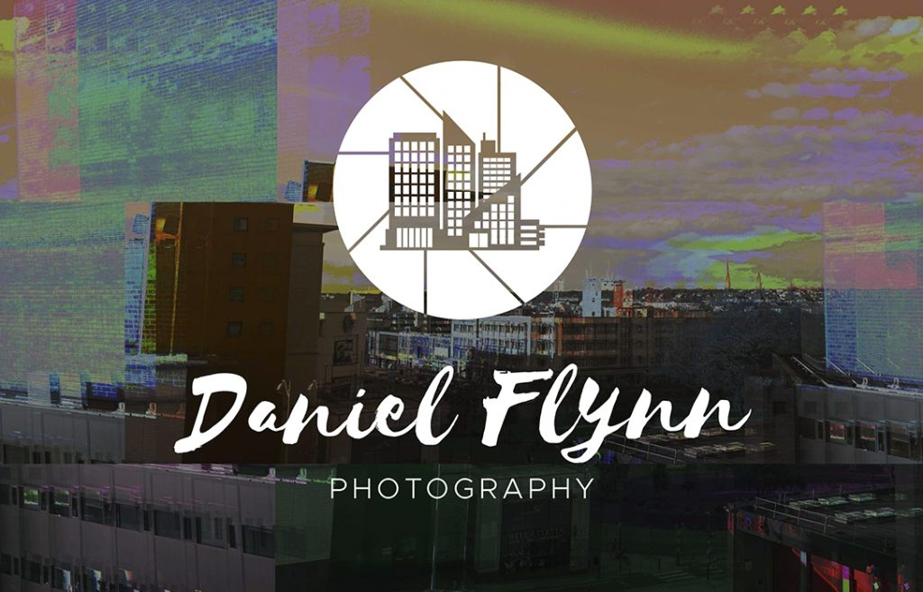 Logo design for Plymouth photographer Daniel Flynn. Made by Jon Glanville - Plymouth Graphic Designer.