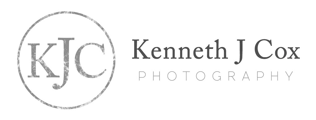 Logo design for Plymouth photographer Kenneth J Cox. Made by Jon Glanville - Plymouth Graphic Designer.