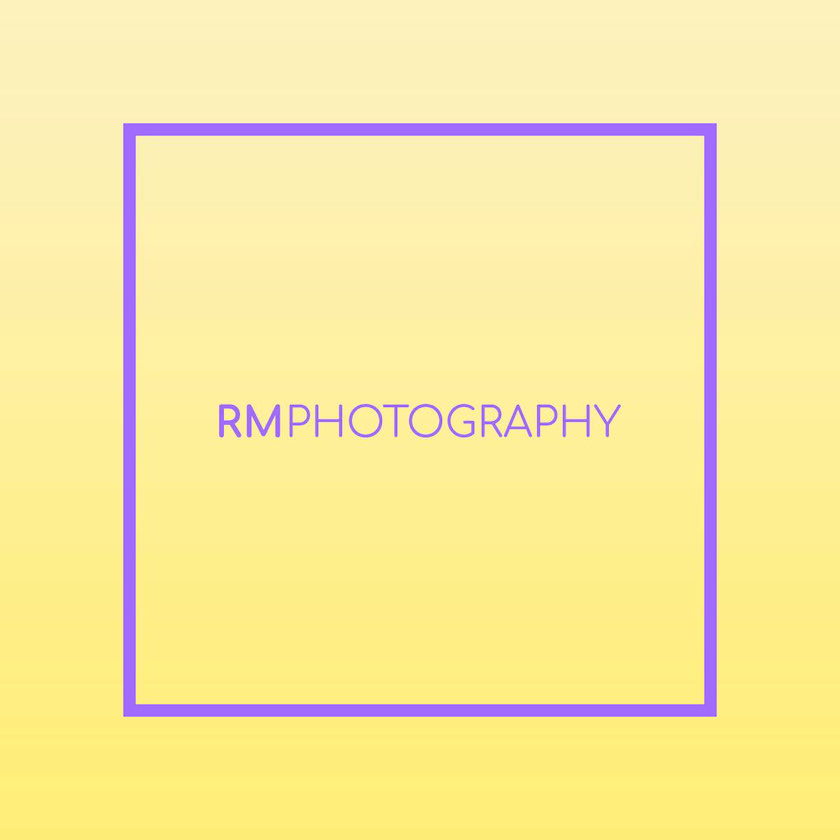Logo for Plymouth photographer Rosie Morrison. Made by Jon Glanville - Plymouth Graphic Designer.