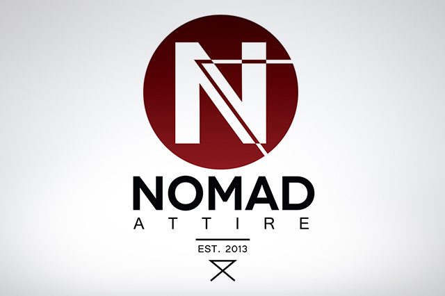 Logo Design for Clothing Company Nomad Attire. Made by Jon Glanville - Plymouth Graphic Designer.