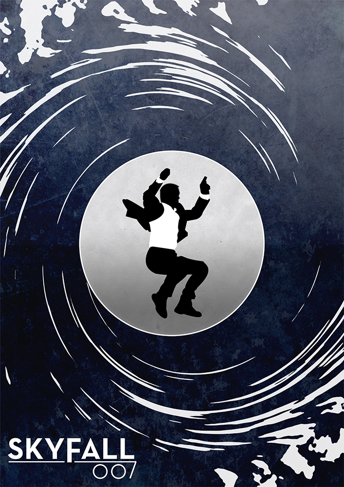 James Bond Skyfall Alternative Movie Poster