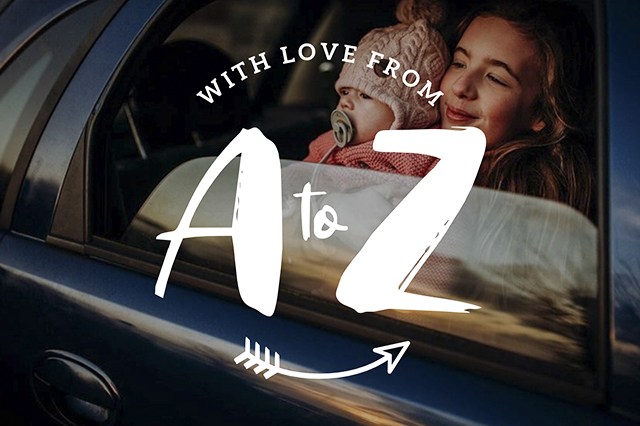 Logo Design for With Love From A to Z, Plymouth-based Photographer