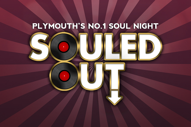 Poster and Print Graphic Design for Souled Out Plymouth.  Made by Jon Glanville - Plymouth Graphic Designer.